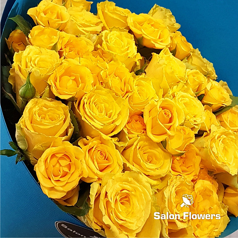 """Yellow Roses"" Blue"